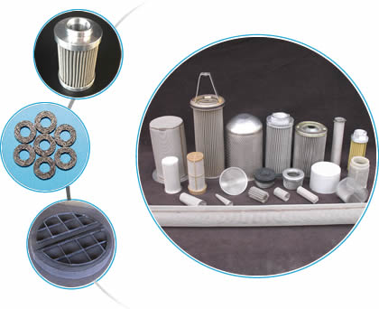 Wire mesh filter in different types: pleated, compressed knitted, cylinder shape, tube shape and conical shape, etc.